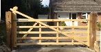 Softwood Untreated gate